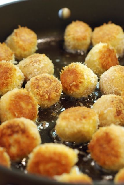 Homemade Chicken Balls made with leftover chicken or rotisserie chicken. no panko on hand. would do again with panko and maybe a little pinch of cayenne. - loved it. 8-13-13