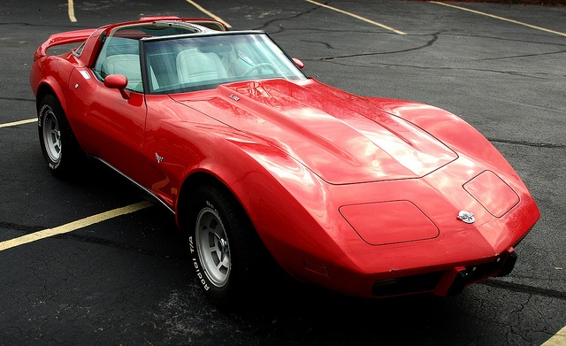 "Another '78 corvette, this time with a ""T"" top"