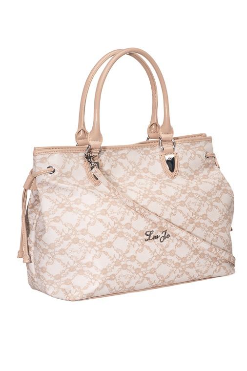 Liu Jo Lace Bag, neutro 185,00 € www.fashionstore.fi