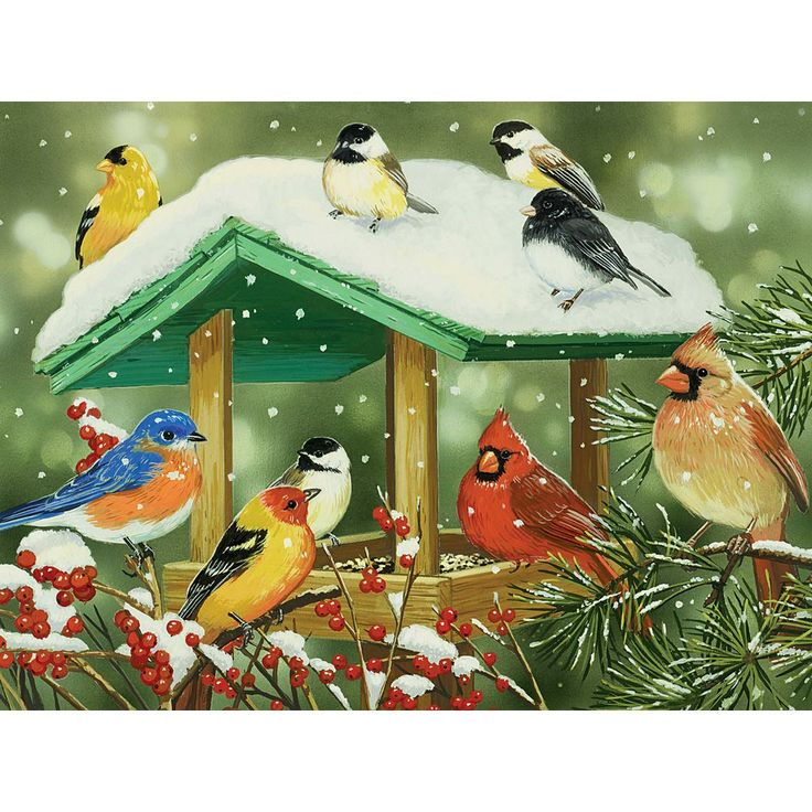 Winter Treats 300 Large Piece Jigsaw Puzzle@ Bits and Pieces