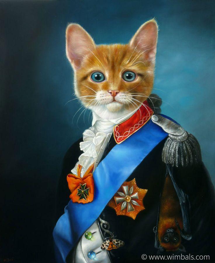 Wim Bals Painting Arthur