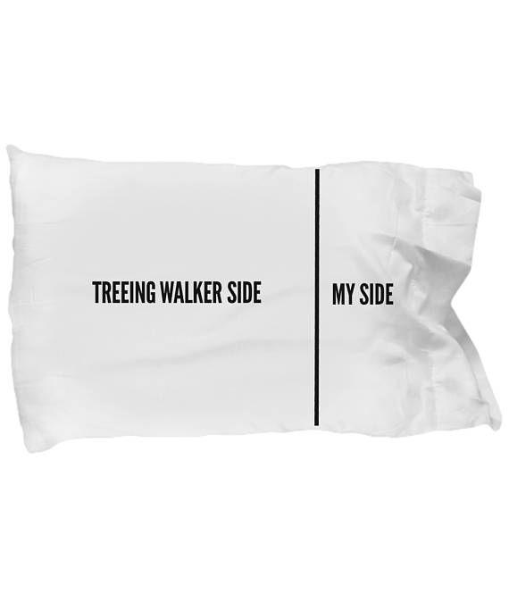 Treeing Walker Coonhound Pillow Case  Funny Treeing Walker