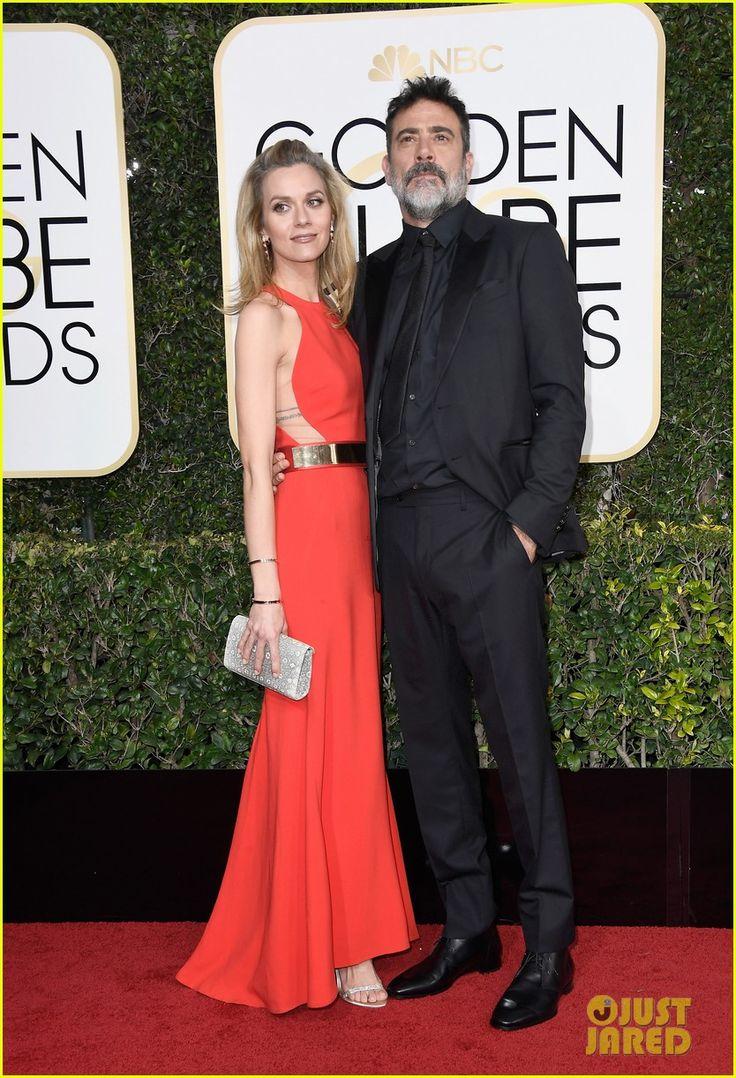 Jeffrey Dean Morgan & Hilarie Burton Look So in Love at Golden Globes 2017