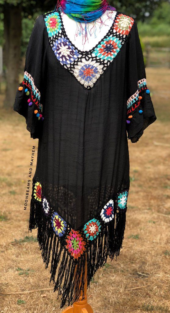 Striking 'layla' bohemian cover up – tunic
