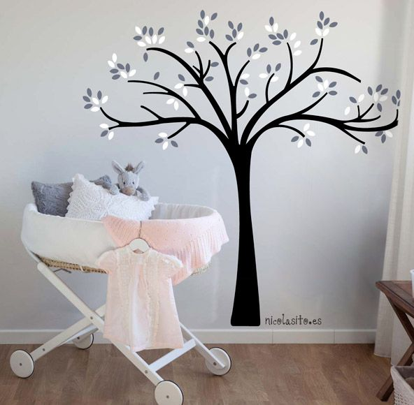 #árbol #vinilos #decorativos de #arboles para pegar en la pared. #tree #wallstickers #kids