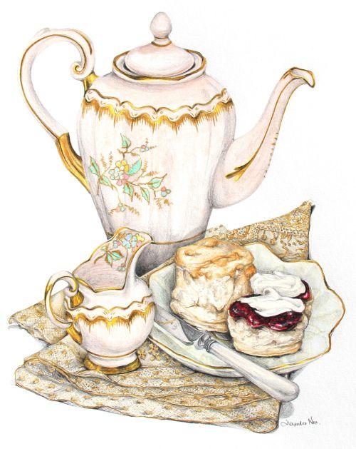 https://i.pinimg.com/736x/a7/aa/93/a7aa932f247803a175f5f796ec0c221a--tea-illustration-clotted-cream.jpg