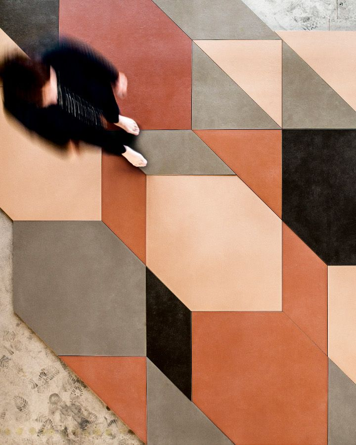 Oversized and small geom New Mutina collections designed by Inga Sempè and Patricia Urquiola - On preview at Cersaie 2014