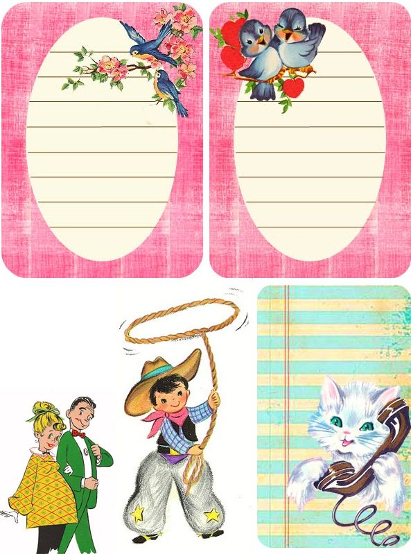 Pretty labels.: Gift Tags, Gifts Tags, Valentine