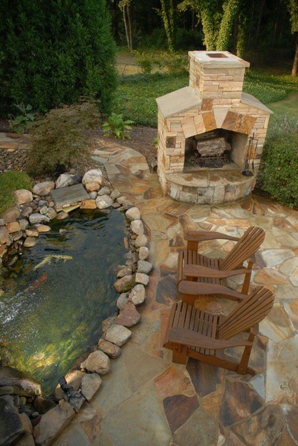 37 best images about bassins de jardin on pinterest - Jardin zen avec bassin ...