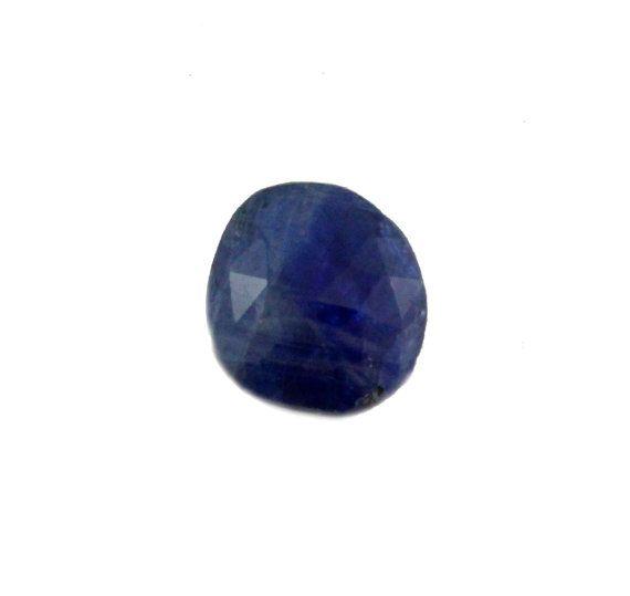 Blue Kyanite fancy rose cut 5.30carat by SARAHHUGHESfinegems