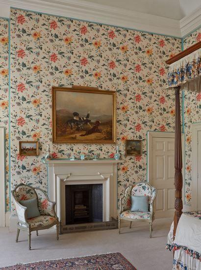Art of the fireplace/ Cornbury Park bedroom