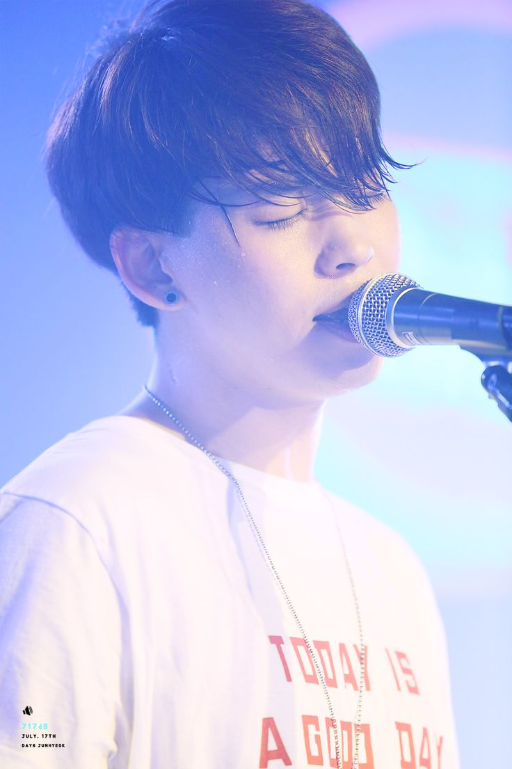 Junhyeok former Day6 member, this kid is extremely talented and I am still going to pin him ❤️ This also happens to be a really beautiful picture of him and I can't help but hear 'Colors' as I look at it.