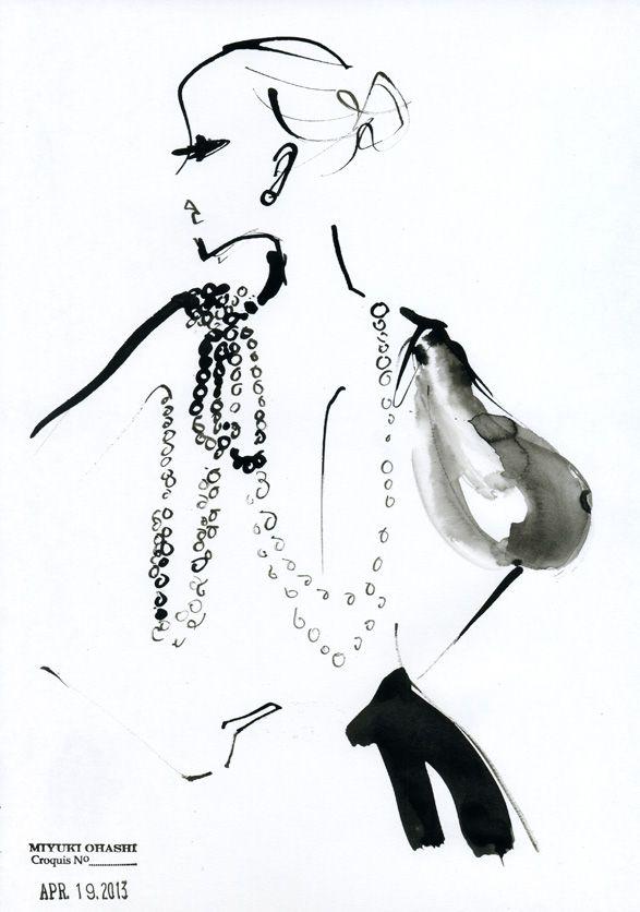 Miyuki Ohashi  #illustration