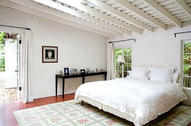 Marilyn Monroe's house Brentwood-bedroom