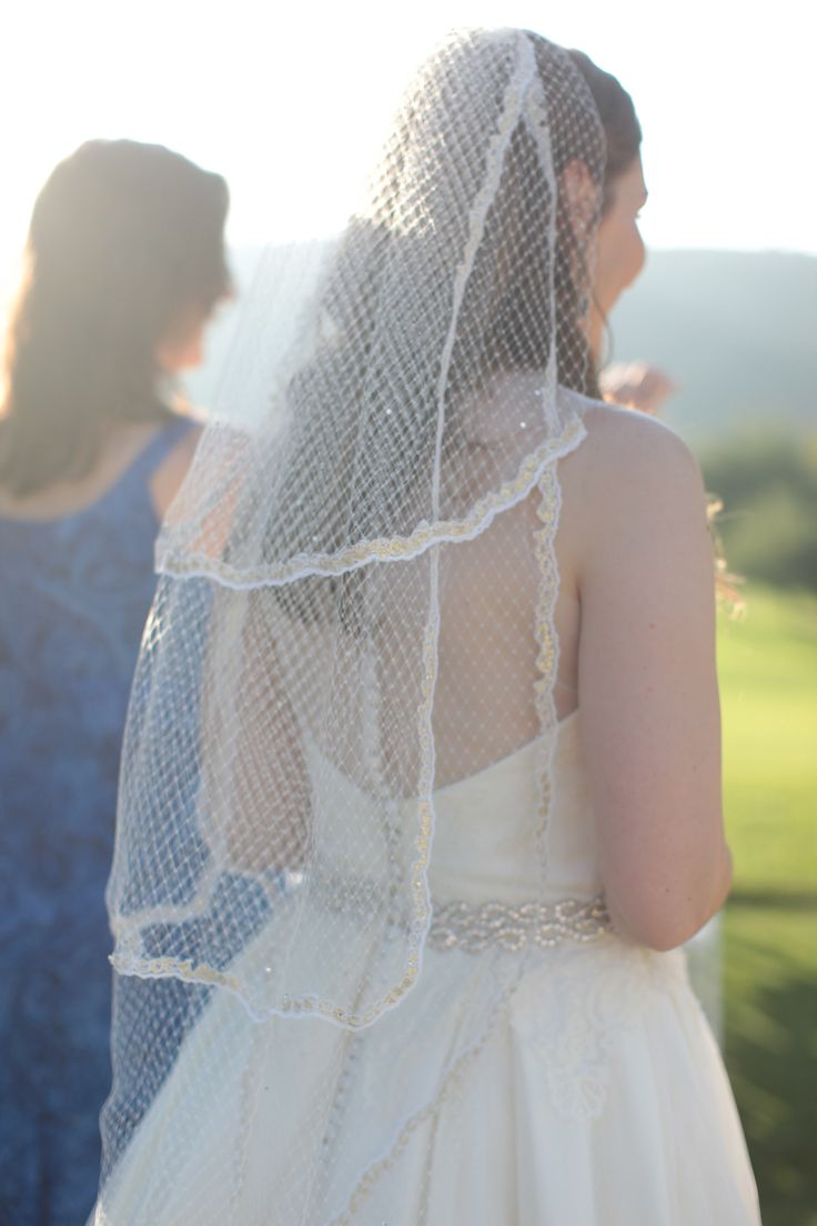 DIY Veil Long Birdcage Netting