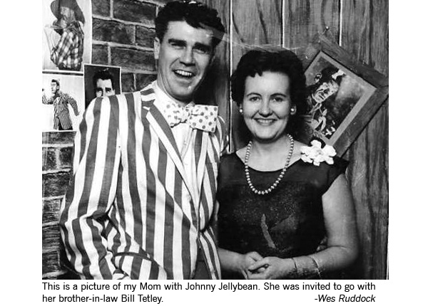 Johnny Jellybean, the funniest man on TV had both an American and a Canadian incarnation, years apart.