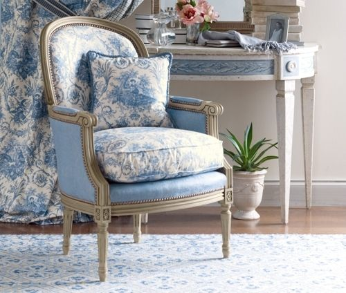 Blue French Toile                                                       …