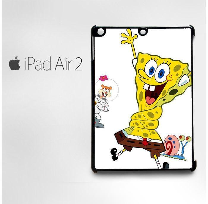 Spongebob and Sandy Cheeks for custom case iPad 2/iPad 3/iPad 4/iPad Mini 2/iPad Mini 3/iPad Mini 4/iPad Air1/iPad Air 2