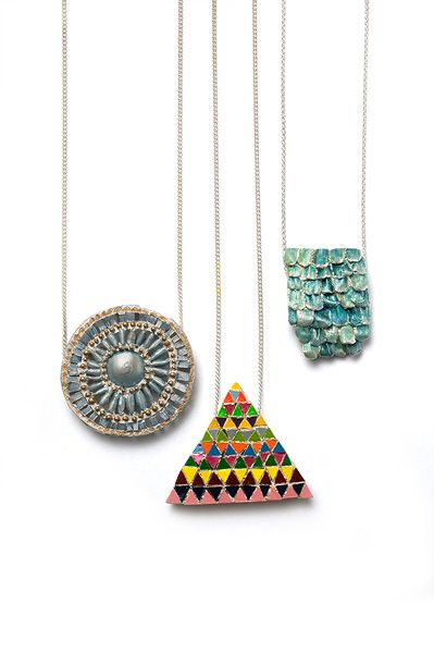 Pendants by Katherine Bowman