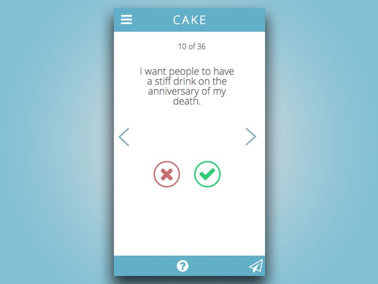 #CAKE Is an App for Your Final Wishes #apps #healthcare