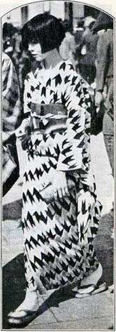 Mixing styles for modern Japanese girl – 1928