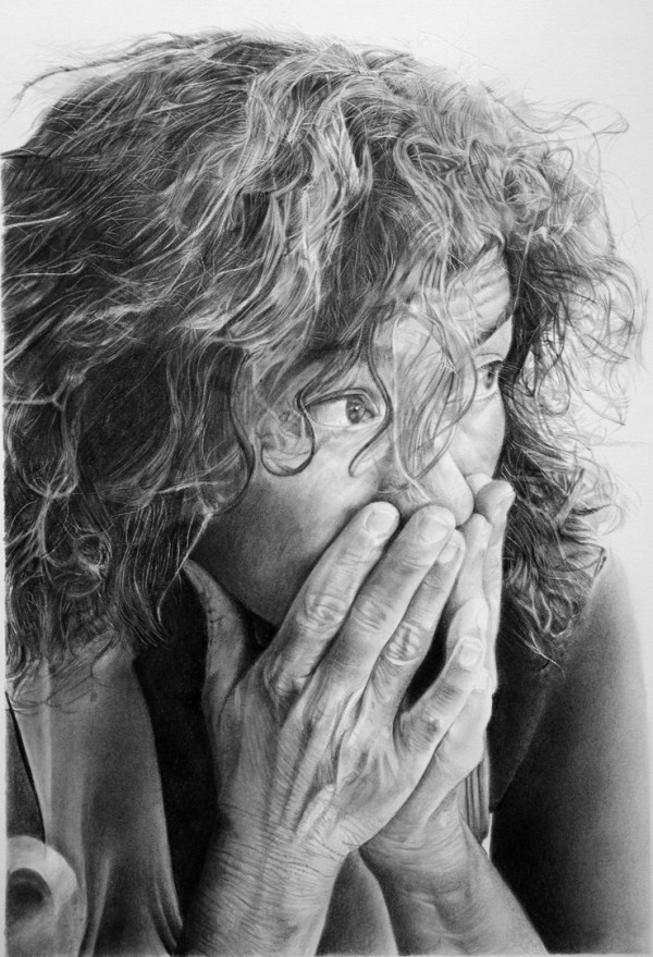 Hyper realistic pencil drawings by italian artist franco clun franco clooney