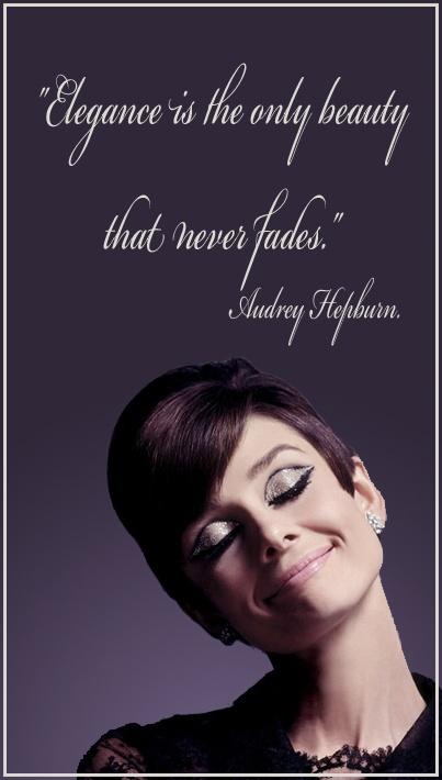Quotes Elegance Audreyhepburn Hepburn