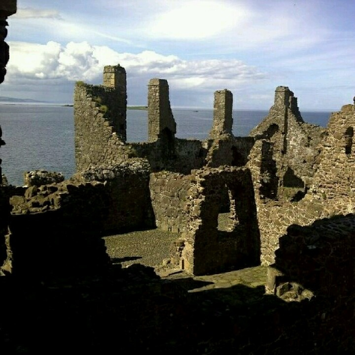 Dunluce Castle, North Coast, Northern Ireland