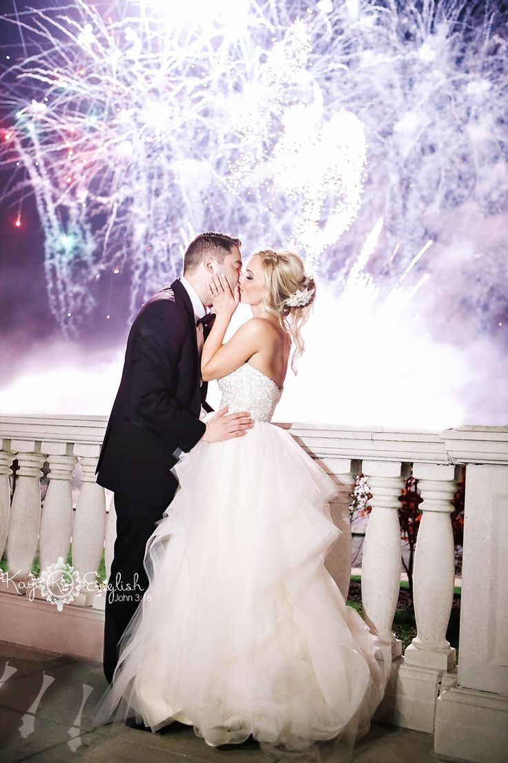 A Wedding at The Palace at Somerset Park   Fireworks