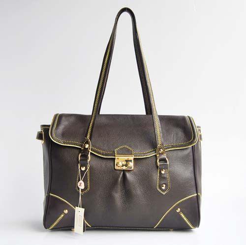 Louis Vuitton handbag M95848 coffee replica LV bag fake bag cheap