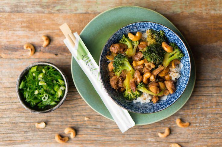 Culy Homemade: kip cashew met broccoli