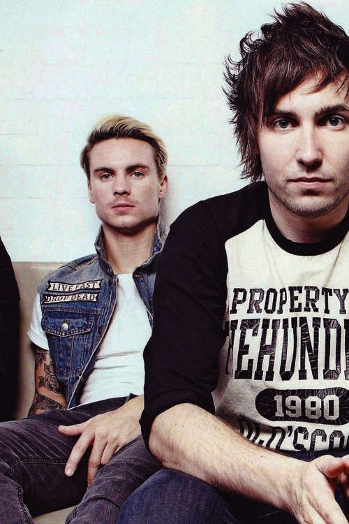 Dan Flint and Josh Franceschi you me at six #bands and #music