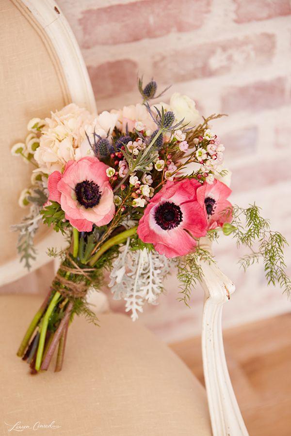 Wedding Bells: DIY Bouquet de mariée et boutonnière