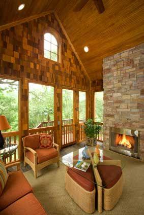Beautiful three season porch