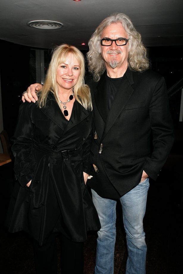 Billy Connolly and his wife Pamela Stevenson