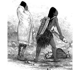 The Chinook Tribe  Summary and Definition: The Chinook tribe were great fishers and traders who were located along the Columbia River to the Pacific Ocean. The Chinook tribe lived off the produce from the river and ocean and constructed their plank houses and canoes from the abundant Red Cedar trees. Many items of their clothing were also made from the bark of the cedar trees.