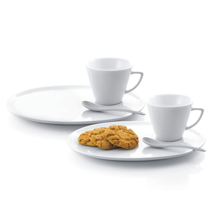 This contemporary dessert plate set is perfect for entertaining after a meal. The set is  sc 1 st  Pinterest & 90 best Snack plate \u0026 cup set/Tea and Toast set/Tennis plate set ...