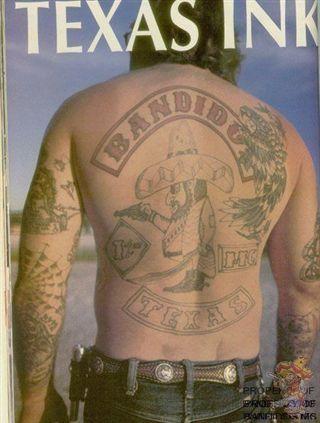 Texas bandidos tattoos pinterest texas and for Tattoo art club