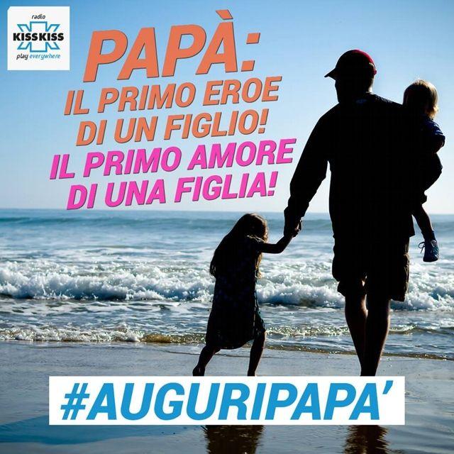 #AuguriPapà