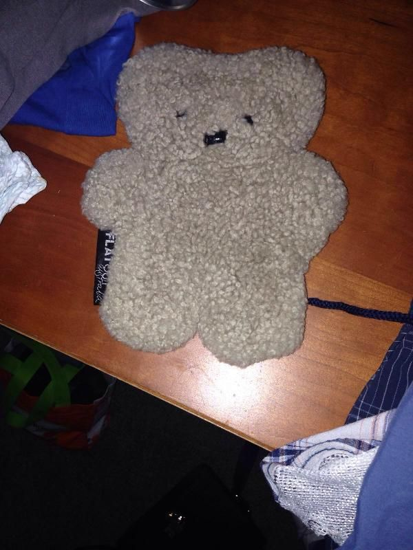 Lost on 01 Jun. 2016 @ Dumbarton Road, Partick. Small, flat teddy. Label says Flat Out Australia Visit: https://whiteboomerang.com/lostteddy/msg/0jm6fk (Posted by Sarah on 07 Jun. 2016)