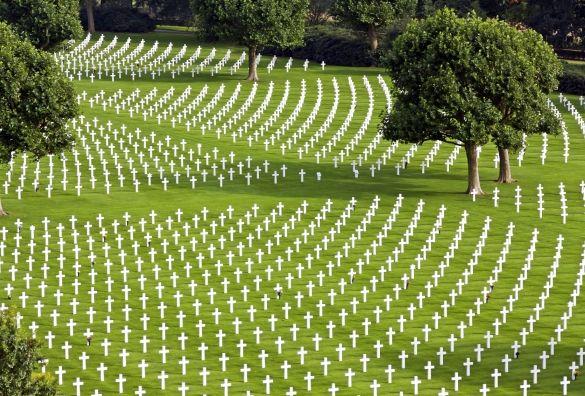 In Margraten ligt het enige Amerikaanse oorlogskerkhof in Nederland. De eerste soldaat werd hier begraven op 10 november 1944. Er liggen 8301 Amerikaanse soldaten begraven, die hun leven gaven voor vrijheid. Bovendien staan er nog eens 1722 namen van Amerikaanse soldaten op de muren van de vermisten.