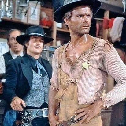 Terence Hill They call me Trinity
