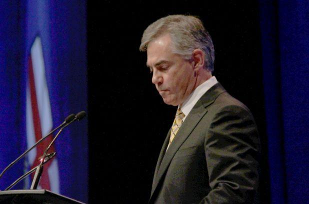 'Message received,' Jim Prentice tells Albertans in PC leader's dinner speech | Metro