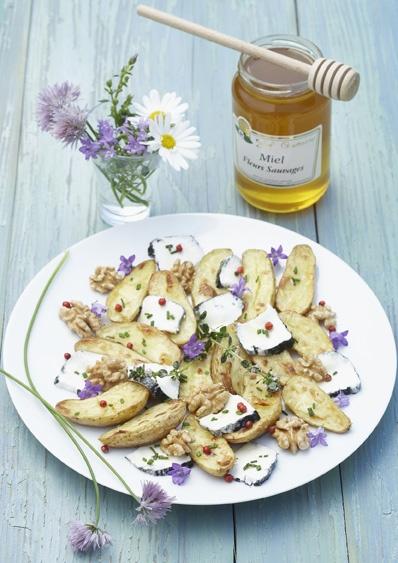 Ratte du Touquet dorée au miel    http://www.maison.com/cuisiner/plats/ratte-touquet-doree-miel-4832/