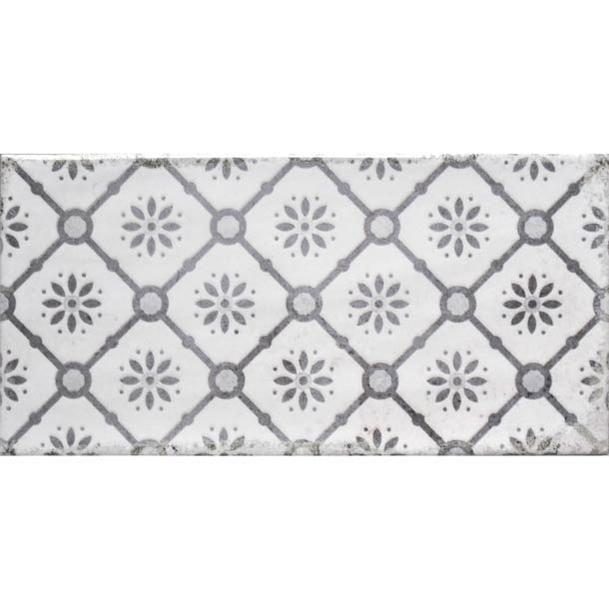 10x20cm Vita Nebbia Decor Brick Tile In 2020 Brick Tiles Tiles Brick Decor