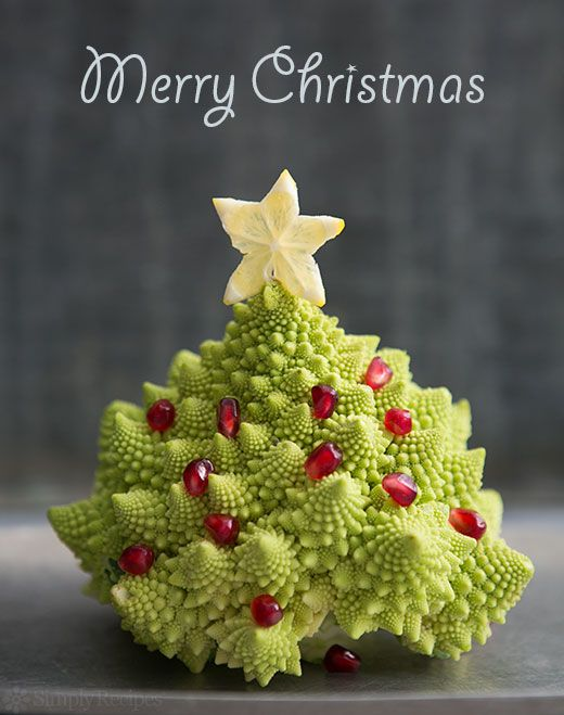 Merry Christmas from Simply Recipes Romanesco, also known as Romanesque…