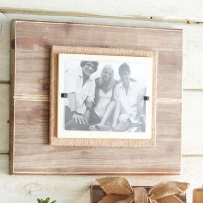 mud pie deluxe pine 5 inch x 7 inch picture frame buybuybaby - Mud Pie Frames