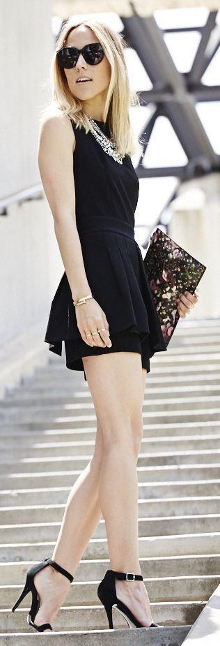 Black Street Style Inspiration❥