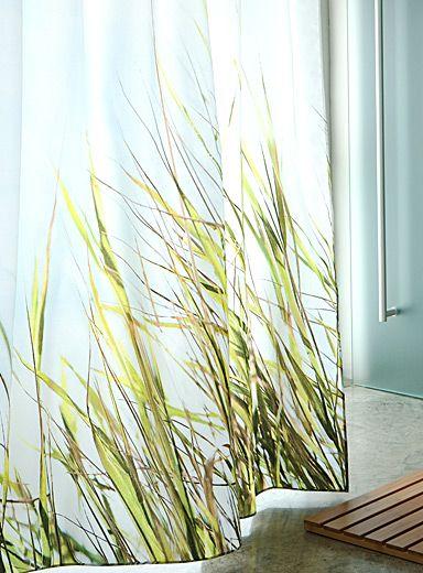 Shore Grass Shower Curtain