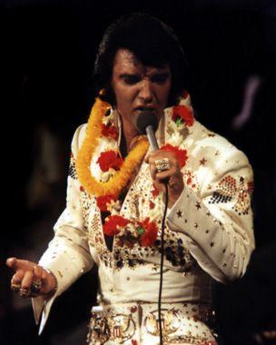 """ELVIS NOW - ELVIS LIVE IN CONCERT 1970'S/Elvis in Concert """"Aloha from Hawaii"""" 1/14/1973."""